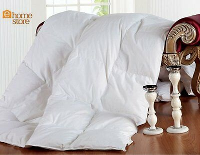 100% Duck Feather & Down Duvet Quilt- All Sizes & Togs Available