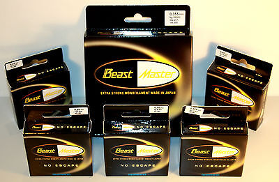Shimano BeastMaster Schnur 0,20 0,25 0,30 0,355 0,40mm 500m 150m Made in Japan