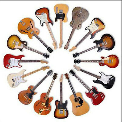 Classic Guitars - Quality Round Wooden Coaster