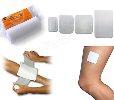 Sterile WOUND DRESSING - HIGH QUALITY, All Types & Sizes, First Aid, CE Marked