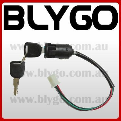 4 Wire Ignition Key Barrel Switch 50cc 110cc 125cc 250cc PIT Quad Dirt Bike ATV