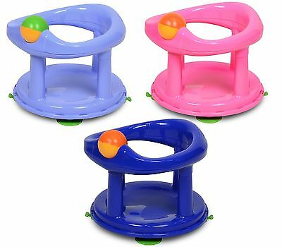 Safety 1st Child Toddler Swivel Bath Support Seat - Pink, Blue, Primary