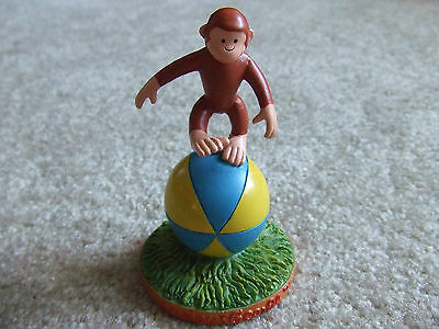 Curious George With The Ball Figurine TM & HMCO