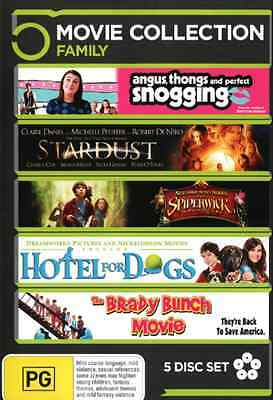 Angus, Thongs and Perfect Snogging / Stardust / Spiderwick Chronicles DVD