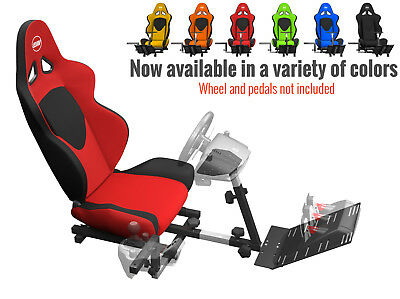 OpenWheeler Advanced Racing Seat/Stand Driving Simulator with Gear Shifter Mount