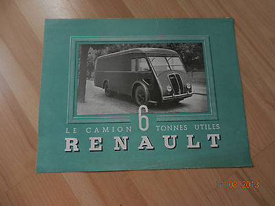 catalogue RENAULT camion 6 tonnes type AGKD
