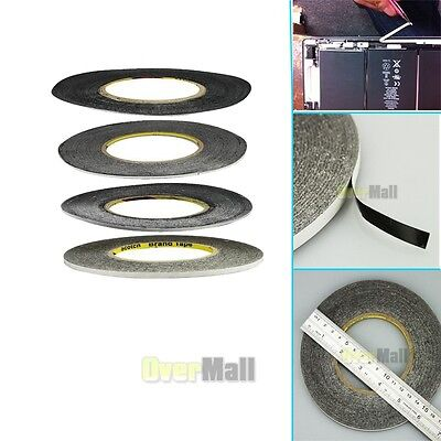 1mm 2mm 3mm 5mm Double Side Adhesive 3M Sticker Tape For Cellphone IPad Screen