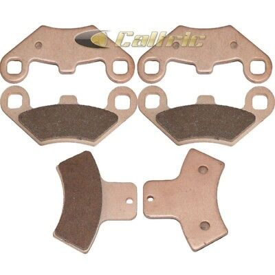 Fits Polaris Xpedition 325 425 2000 Sintered Front & Rear Brake Pads
