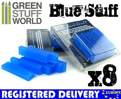 Blue Stuff - 8 bars - Make an instant mold - New Material - Warhammer 40k Reborn