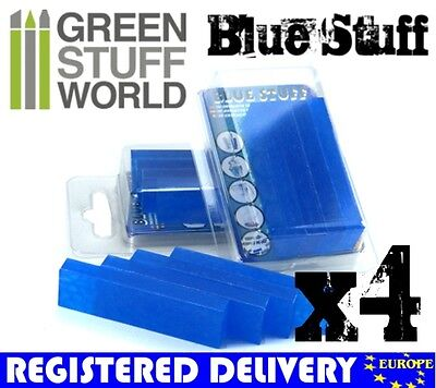Blue Stuff - 4 bars - Make an instant mold -New Material - Warhammer 40k Reborn