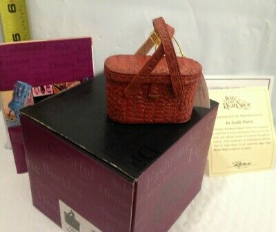 Just the Right Shoe, by Raine - In Scale Purse - 26306  NEW in Box