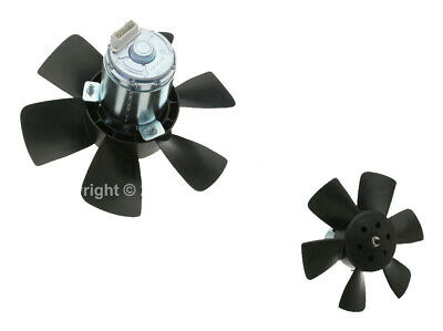 Meyle Auxiliary Radiator Engine Cooling Fan Motor for Volkswagen for Audi w/ A/C