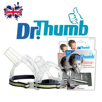 One (1) X Dr Thumb Thumb-Guard Stop Thumb-Sucking Aid Treatment Kit Baby Child