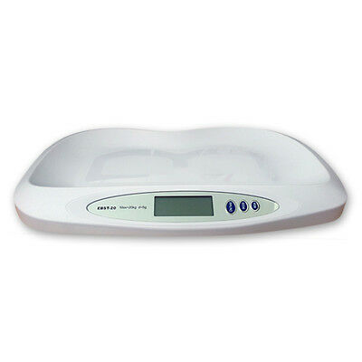 Digital Infant Baby Scale EBST-20 - Pet & Veterinary Scale 20Kg x 5g with Lb/Kg