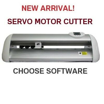 VINYL CUTTER PLOTTER BRAND NEW UKCUTTER 64Mb CACHE CT1200S WITH SERVO MOTOR