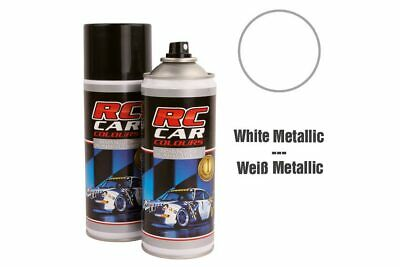 RC Car Colours - Lexan Spray Weiß Metallic 150ml (6.60 Euro pro 100 ml)