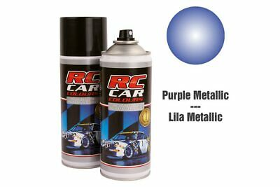 RC Car Colours - Lexan Spray Purple Metallic 150ml (6.60 Euro pro 100 ml)