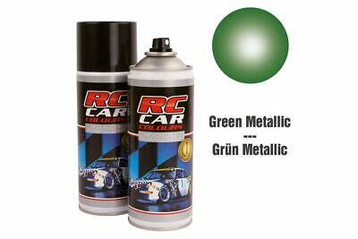 RC Car Colours - Lexan Spray Grün Metallic 150ml (6.60 Euro pro 100 ml)