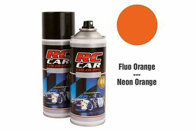 RC Car Colours - Lexan Spray Fluo Dunkel Orange 150ml (6.60 Euro pro 100 ml)