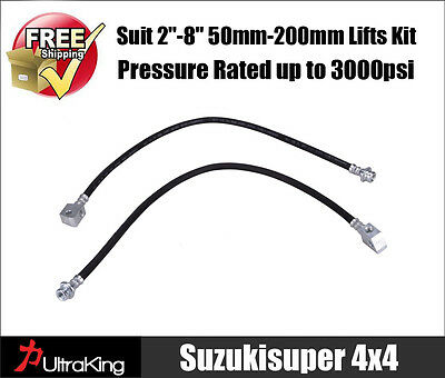 Extended Brake Lines Hose Nissan Patrol GQ Y60 GU Y61 Suspension Spring Lift Kit