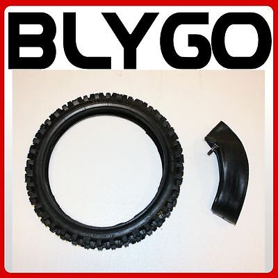 """GL 2.75-14 60/100- 14"""" Inch Front Knobby Tyre Tire +Tube PIT PRO Trail Dirt Bike"""
