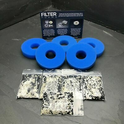 5 x COMPATIBLE BiORB ANTI ALGAE FILTER SERVICE KIT REFILL BI ORB MEDIA FLOW
