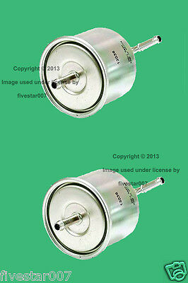 8a5507857dd3 2 Gas Fuel Filters Injection Strainer Cartridge Set Element Kit for Subaru  DL GL