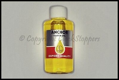 Clock Oil for Lubricating Mechanical Movements Oiling Repairing Servicing Bottle