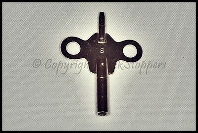 Double Ended Steel Carriage Travel Clock Winding Key Size 3 4 5 6 7 8 1.75 1.95