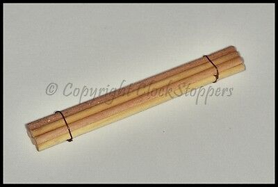 Pegwood 5mm for Cleaning Clock Pivots Wheels Servicing Repair Orange Peg Wood