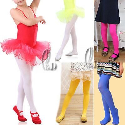 Ballet Dance Tights Pantyhose Stocking Fits Child To Adult Multi Colour Da003