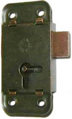 "M-1861 Flush Mnt Lock, Statuary Bronze Finish, 2-1/2"" Long X 1-1/4"" Wide"