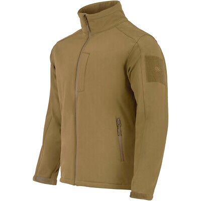 Highlander Military Odin Soft Shell Waterproof Breathable Ab-Tex Army Jacket Tan