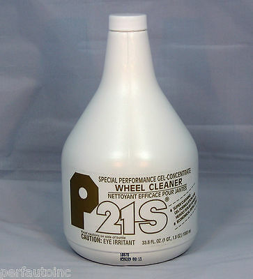 P21S® Gel Wheel Cleaner 1000Ml Refill Alloy Chrome Rims Recommended For Bmw Audi