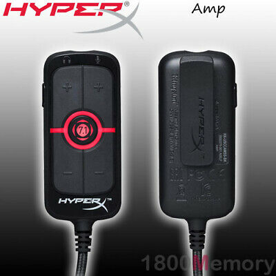 Kingston HyperX AMP USB Sound Card Virtual 7.1 Surround Sound for PC Sony PS4
