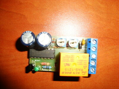 CYCLIC TIMER SWITCH RELAY 12V ADJUSTABLE ON/OFF REPEATER ON 2 -900s OFF 2-960s