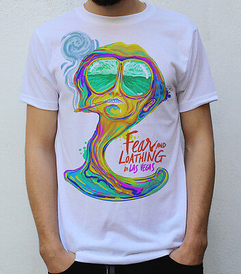 Fear and Loathing in Las Vegas T Shirt Psychedelic Design