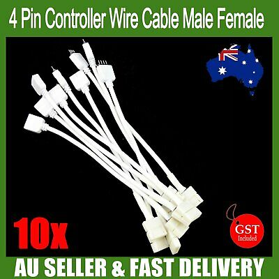 10X 4PIN RGB Connector Wire Cable For 3528 5050 SMD LED Strip Male or Female