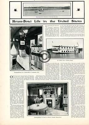 1901 Old Home Week New England Article Edward Nathan Pearson Frank Rollins Float