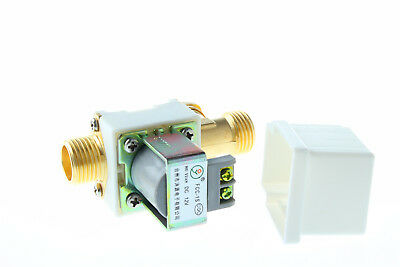 """Electric Solenoid Valve For Water Air N/C 1/2"""" Normally Closed 12V 220V 24V"""