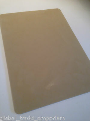 "NEW Spellbinders Grand Calibur JUNIOR RUBBER EMBOSSING MAT GC-010 8.5"" x 6"" Tan"