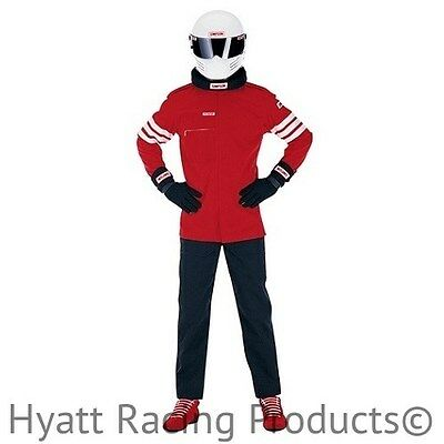 Simpson STD.6 1-Layer 2-Piece Auto Racing Fire Suit SFI 1 - All Sizes & Colors