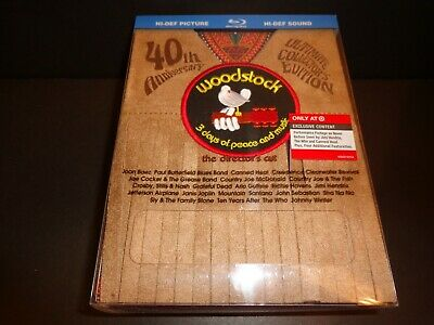 WOODSTOCK-3 DAYS OF PEACE & MUSIC-Limited Edition NUMBERED-15 LANGUAGE SUBTITLES