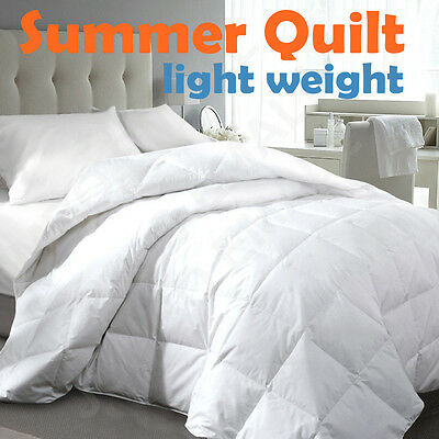 Light Weight Summer Quilt-Machine Wash-Single/Double/Queen/King/Super King