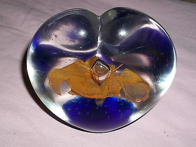 VINTAGE GLASS PAPER WEIGHT LOT #8