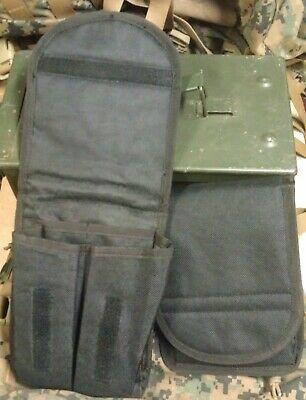 2 Used Individual Pouches 3 Inside Pockets Medic FirstAid Cell Magazine Ammo EMT