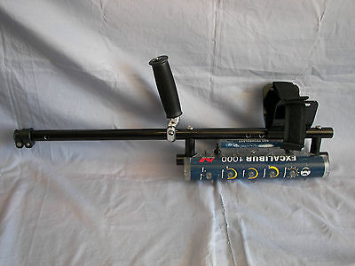 "Plugger 24"" Aluminum Dive Shaft for Minelab Excalibur Metal Detector"