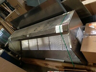 8' VENT HOOD FOR CONCESSION TRAILER
