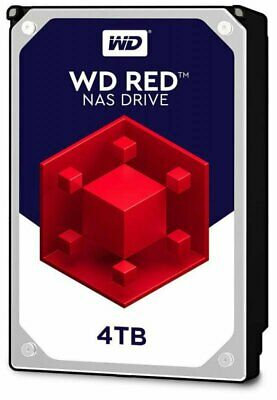 Western Digital 4TB SATA-3 6Gb 64Mb Intellipower NAS RED Hard Drive WD40EFRX 3YR