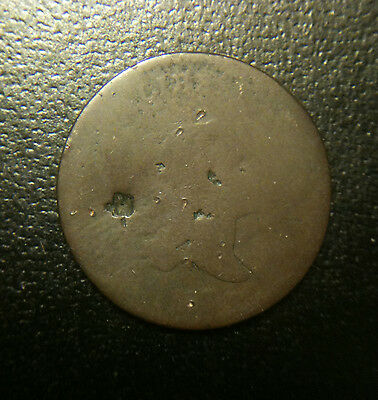 1797 Flowing Hair Half Cent 1/2c Poor Fair FR Lowball Liberty Cap Bust Rare Date